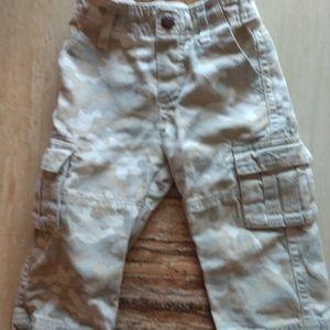 Osh Kosh B'Gosh camo pants